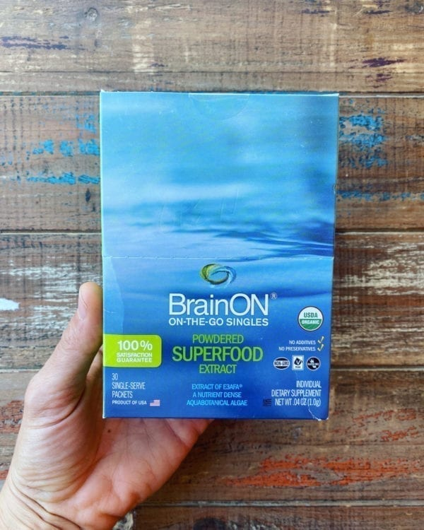 E3Live BRAIN-ON SINGLE PACKETS - BOX OF 30